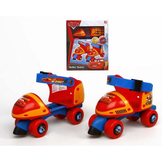 Rolschaatsen Cars rood blauw