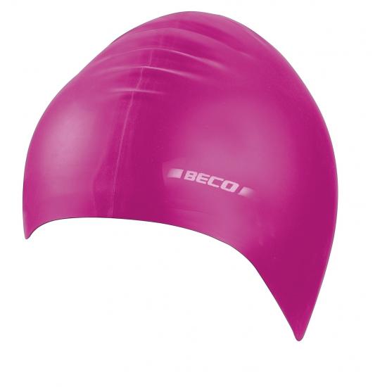 Roze kinder badmuts van siliconen