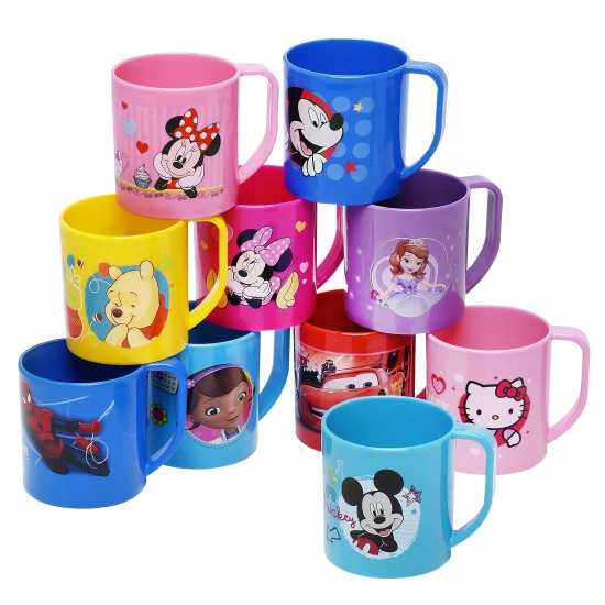Roze Minnie Mouse mok van kunststof