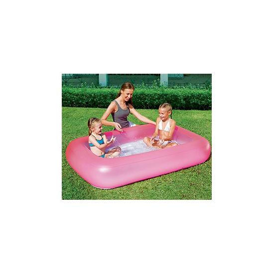 Roze opblaasbaar zwembad