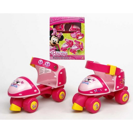 Roze rolschaatsjes Minnie Mouse