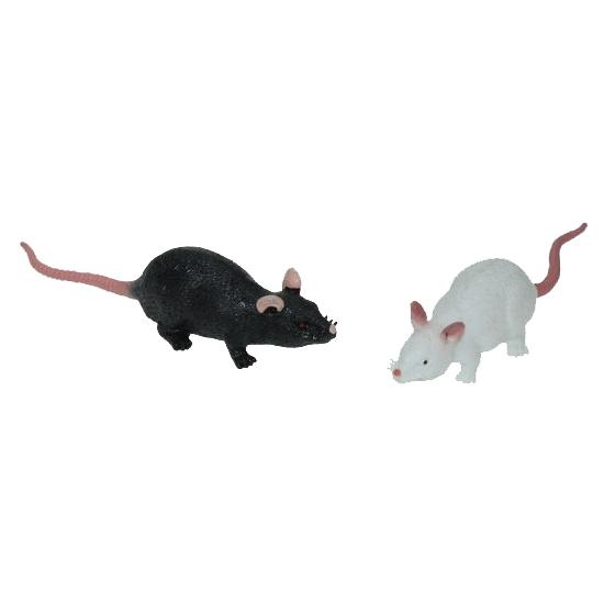 Ruberen speelgoed rat 11 cm