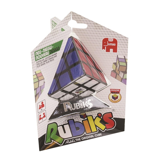 Rubiks kubus gekleurd 6 cm