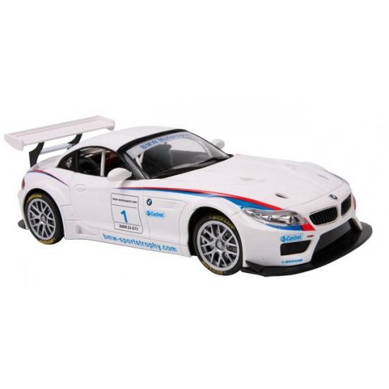 Schaalmodel BMW Z4 GT3 wit