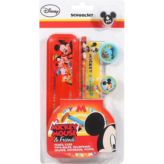 Schooletui Mickey Mouse 6 delig