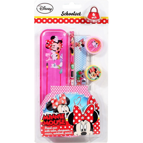 Schooletui Minnie Mouse 6 delig