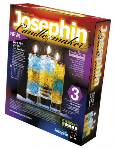 Set om kaarsen in glas te maken