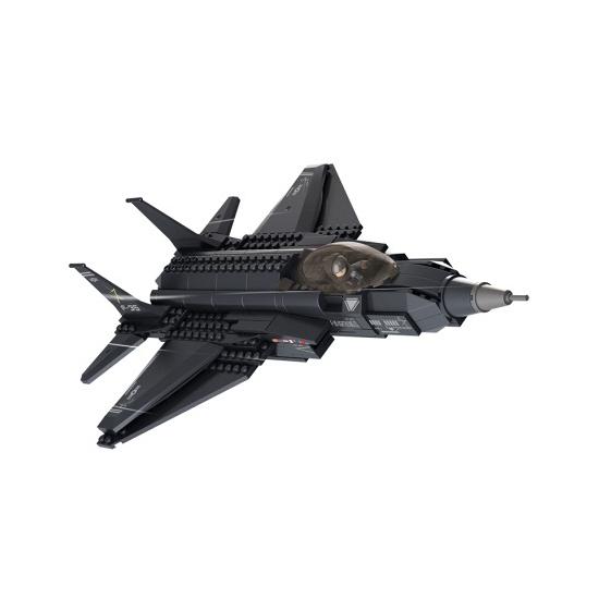 Sluban Lightning II straaljager bouw blokjes