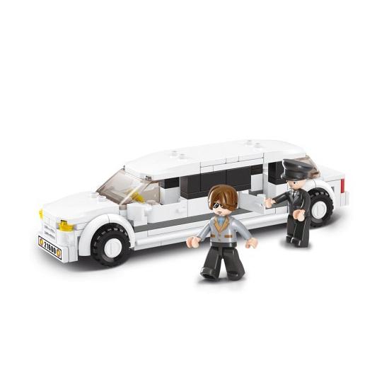 Sluban limousine met poppetjes
