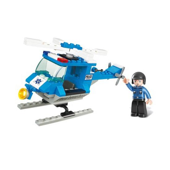 Sluban politiehelikopter 85 blokjes