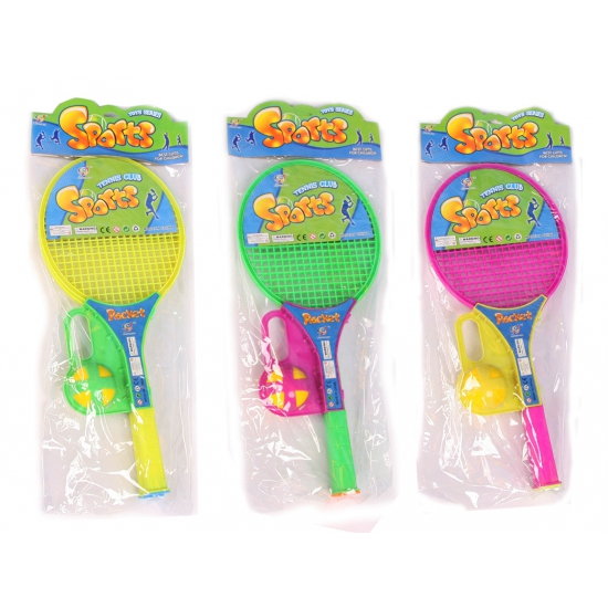 Soft tennis set met softbal