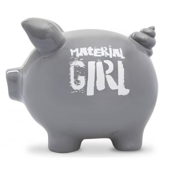Spaarpot spaarvaken Material Girl 20 cm