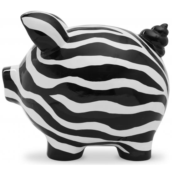 Spaarpot spaarvaken Ziggy Zebra 20 cm
