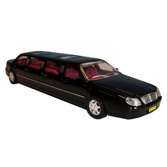 Speel auto limousine zwart