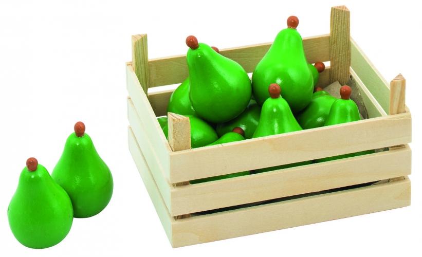 Speel peren in kist
