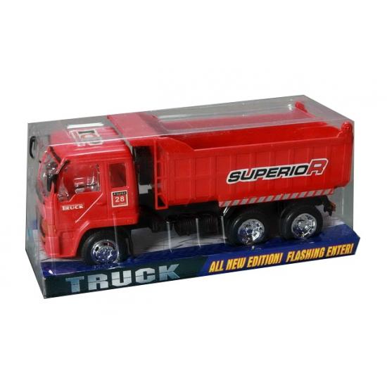 Speel vrachtwagens 28 cm
