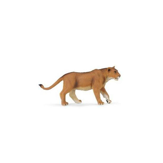 Speeldier leeuwin van plastic 16 cm