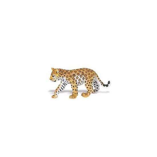 Speeldier luipaard welpje van plastic 16 cm