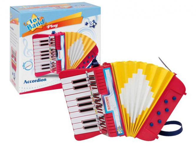Speelgoed accordeon
