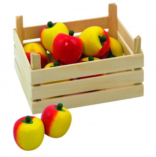 Speelgoed appel met kist