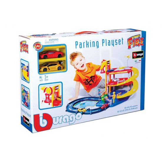 Speelgoed auto garage 1:43