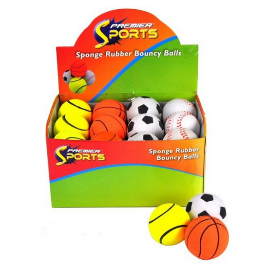 Speelgoed basket stuiterbal