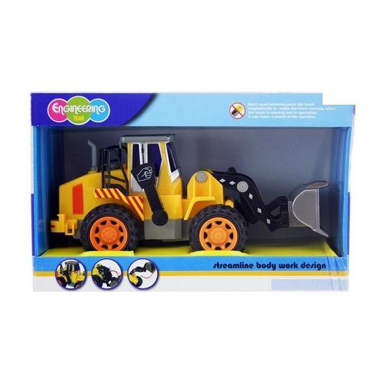 Speelgoed bouwauto shovel