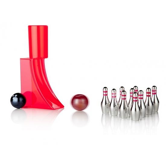 Speelgoed bowling set klein