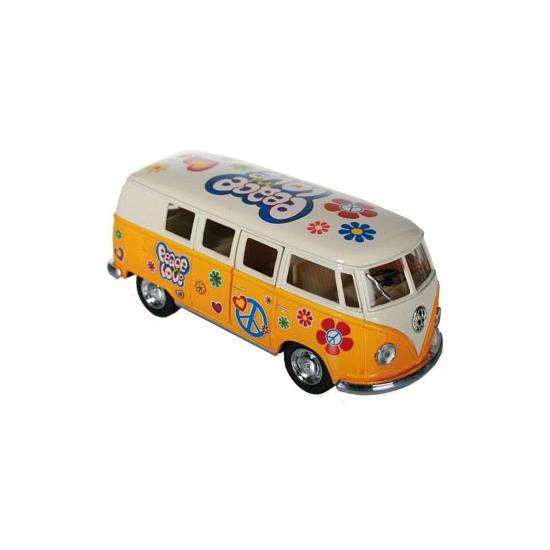 Speelgoed busje VW geel