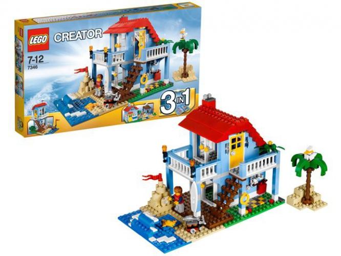 Speelgoed huis aan zee van Lego
