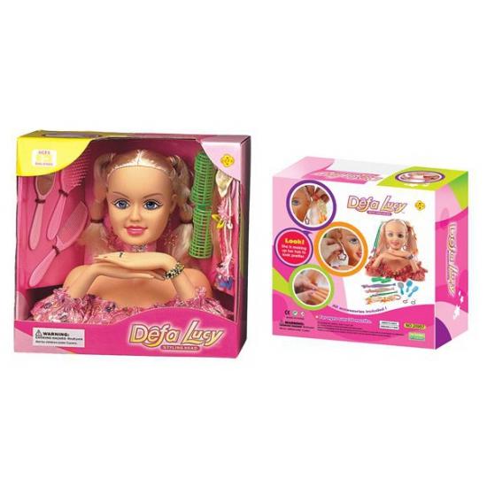 Speelgoed kapkop Lucy met accessoires