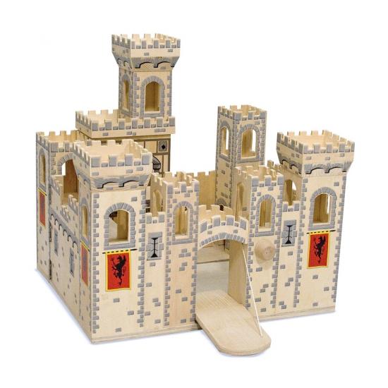 Speelgoed kasteel Medieval van hout