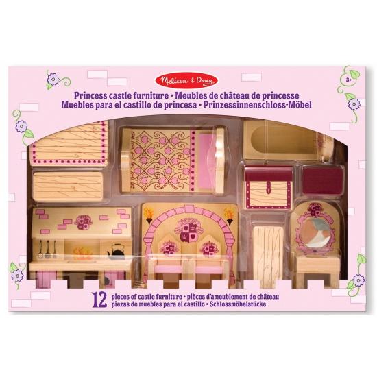 Speelgoed kasteel Princess meubels