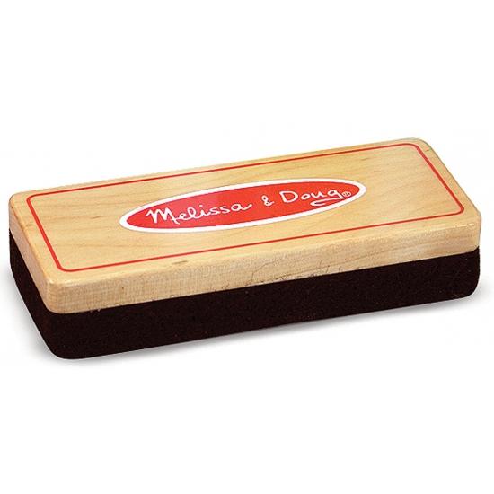 Speelgoed krijtbord wisser van hout