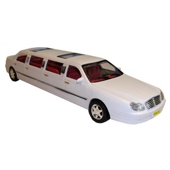Speelgoed limousine wit 46 cm