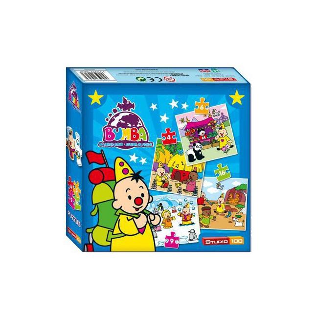 Speelgoed puzzel Bumba clown