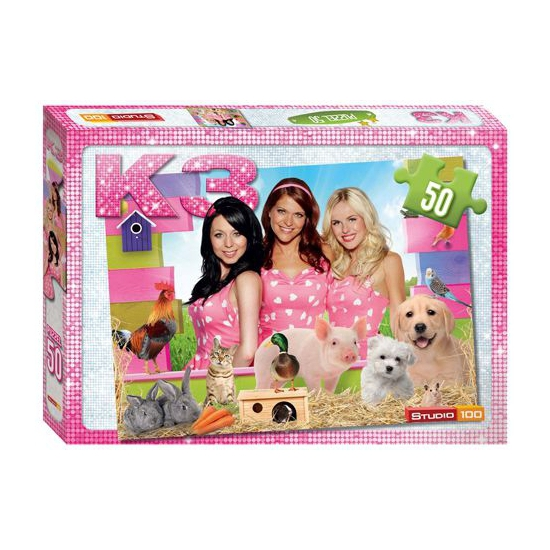 Speelgoed puzzel K3 50 stukjes