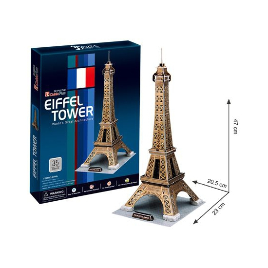 Speelgoed puzzels 3D Eiffeltoren