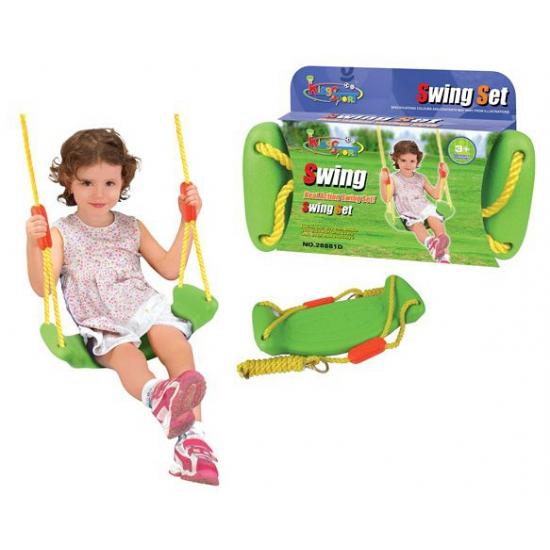 Speelgoed schommel groen