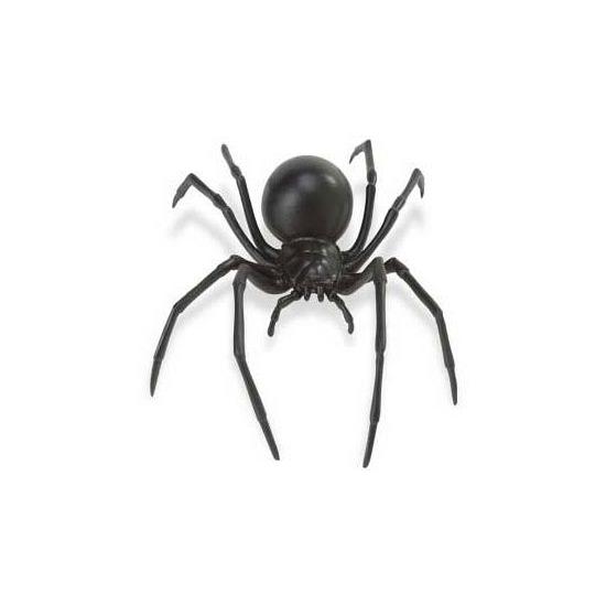 Speelgoed spin zwarte weduwe