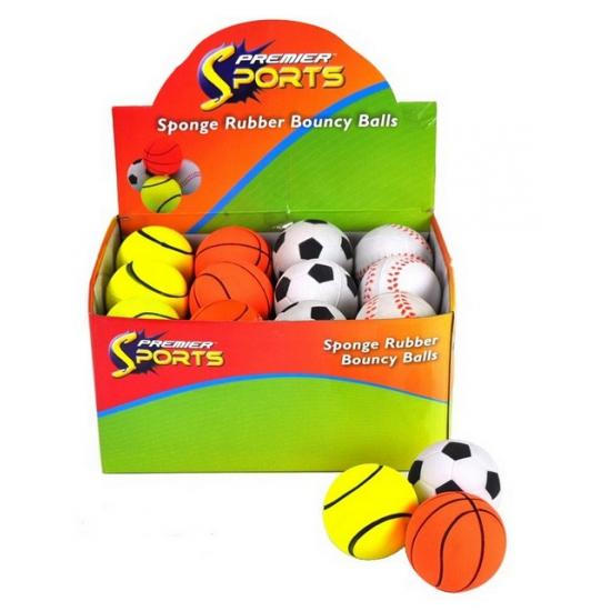 Speelgoed tennis stuiterbal
