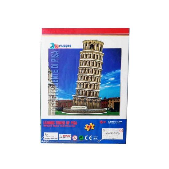 Speelgoed Toren van Pisa 3D puzzel