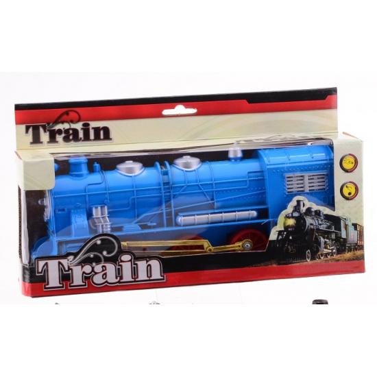 Speelgoed treinen blauw