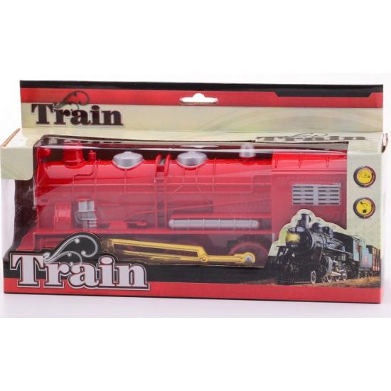 Speelgoed treinen rood