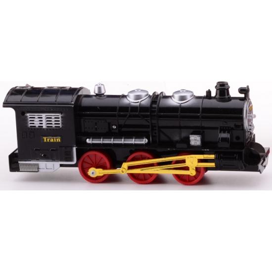 Speelgoed treinen zwart