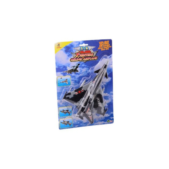 Speelgoed vliegtuigjes luchtmacht grijs