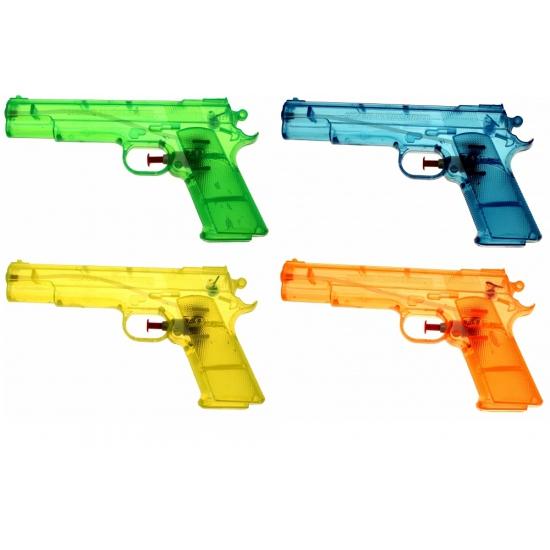 Speelgoed waterpistool doorzichtig