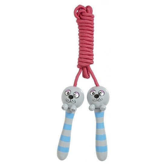 Speelgoed zeehondje springtouw 2.15 m