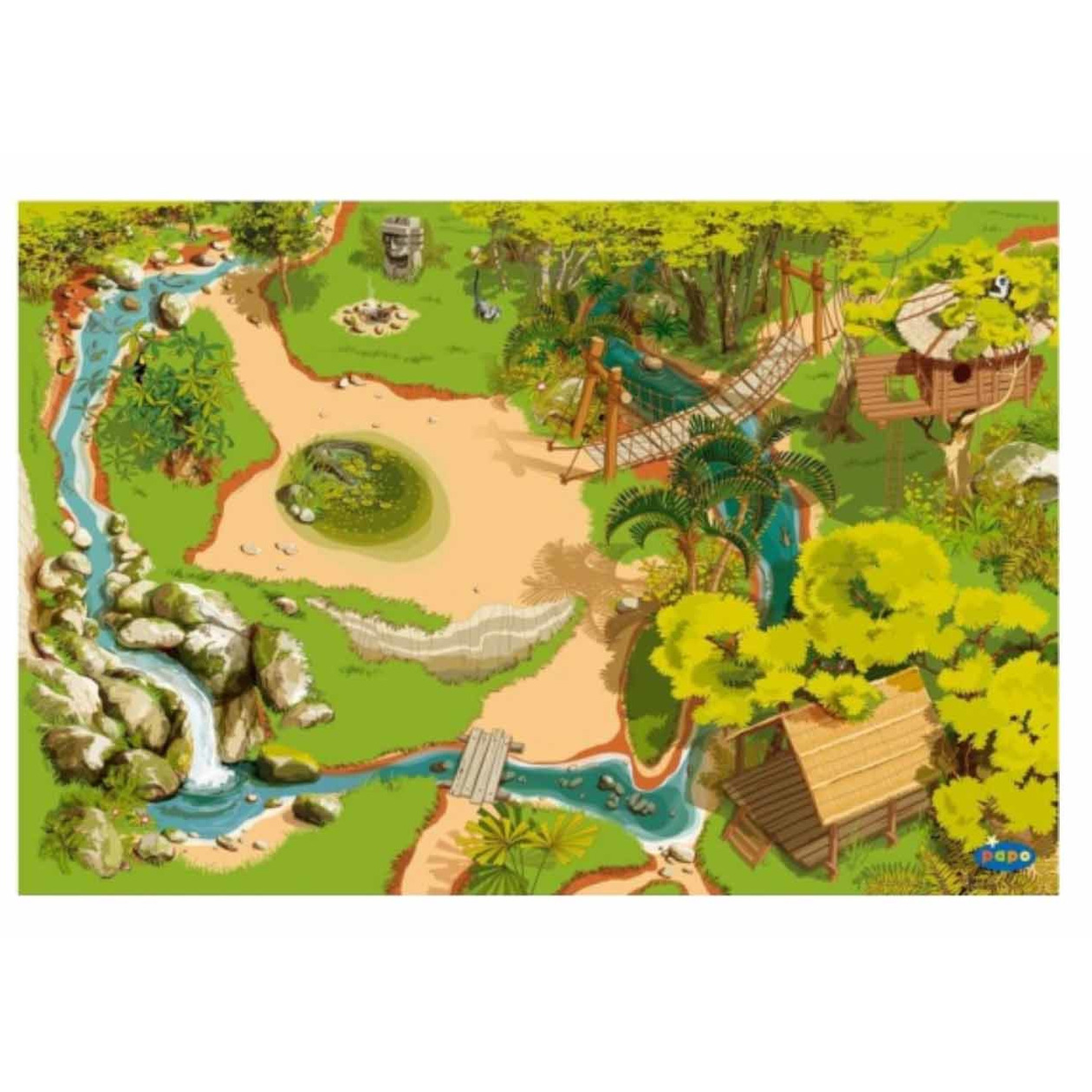 Speelkleed Jungle 95 x 135 cm