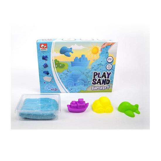 Speelzand blauw 450 gram